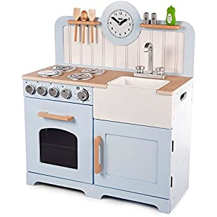 Customer reviews Tidlo Wooden Country Play Kitchen
