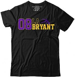 Kobe-Bryant No.8 LA Basketball Legend Jersey Big Fans Customized Handmade T-Shirt Hoodie_Long Sleeve_Tank Top_Sweatshirt