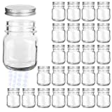 Glass Jars, KAMOTA 4 oz Mini Glass Jars with Lids Perfect for Mason Jars,...