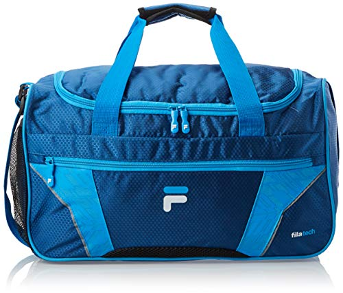 Fila Drone Sm Travel Gym Sport Duffel Bag, Navy/Blue, One Size