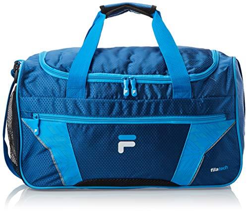 Fila Drone Sm Travel Gym Sport Duffel Bag, Navy/Blue, One Size