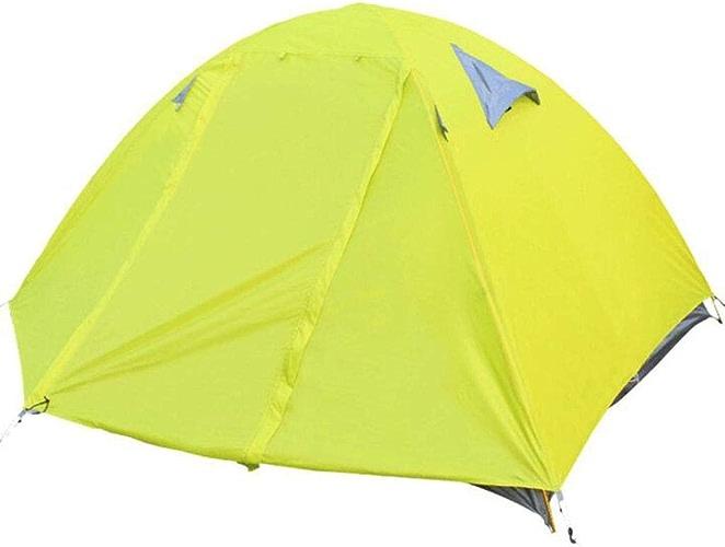 Tent, Prougeection Contre Le Soleil, Résistant à la Pluie, Prougeection UV, Polaire en Aluminium, de Camping en Plein air, de Plage, 2 Personnes, 2 étages