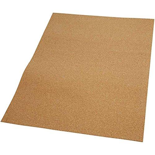Kurk plaat, afm 35x45 cm, dikte 2 mm, 4stuks