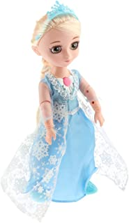 Baosity Electric Smart Princess Girl Doll with Long Hair - Sonic Control Talking & Singing Robotic Dolls Toy 12 Joints Fun Game