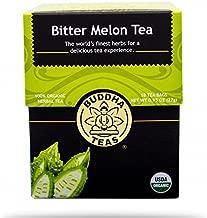 BUDDHA TEAS, TEA, OG1, BITTER MELON, Pack of 6, Size 18 CT - No Artificial Ingredients 100% Organic