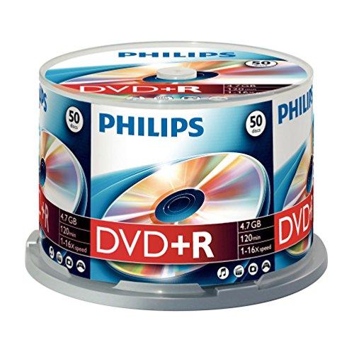 PHILIPS Dvd+r 4.7 GB - Confezione da 50
