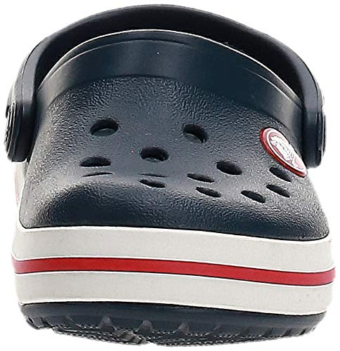 Crocs Kids' Crocband Clog, Navy/Red, 6 M US Children New York