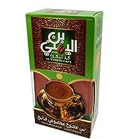 El Yemeni Plain,With Cardamom & Extra Coffee Light/Dark Roast Ground Beans Cup (10% Cardamom (Light Roast), 1 Box / 200 gm)