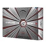 Callaway Golf Chrome Soft X Golf Balls, (One Dozen)