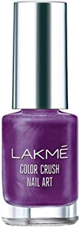 Lakme Color Crush Nailart, M15 Purple, 6 ml