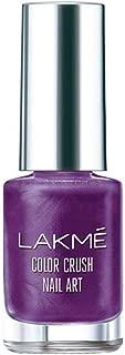 Lakme Color Crush Nailart, M15 Purple, 6 ml