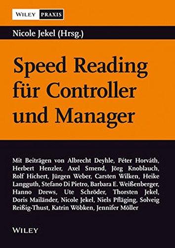 Speed Reading für Controller und Manager