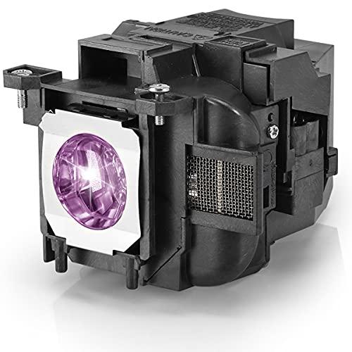 Aimdio Lampada Proiettore Per Epson ELPLP78 EB-S03 EH-TW5100 EH-TW490 EH-TW5200 EH-TW570 EH-TW410 EB-W12 EB-S18 EB-W03 EB-W18 EB-X18 EB-W28 EB-X20 Videoproiettore