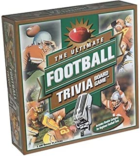 Vintage Sports Cards The Ultimate Football Trivia Board Game