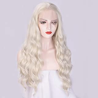 long platinum wig