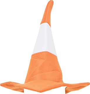 Unisex Adult Hen & Stag Night Fancy Dress Fun Party Novelty Traffic Cone Hat