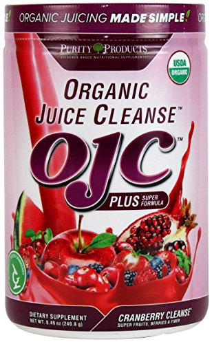 Certified Organic Juice Cleanse - OJC Plus - Cranberry Cleanse,8.49OZ/240.8g
