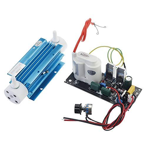 Módulo electrónico 3G Tubo de sílice Ozono Generador Módulo Ozono Salida Agua Air Air Ozonator Con Accesorio 110V / 220V Equipo electrónico de alta precisión (Color : 110V)