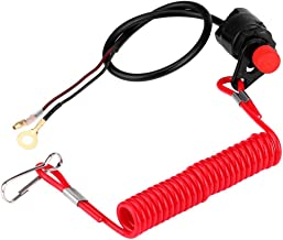YONGYAO Outboard Engine Kill Stop Switch Motor Tether Cord Lanyard Boat For Honda
