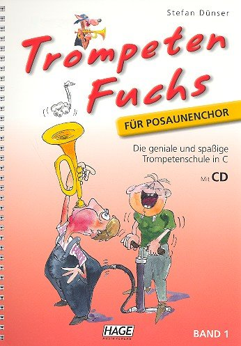 Edition Hage Trompeten Fuchs - Posaunenchor - Band 1