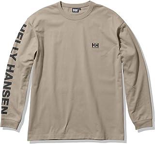 [ヘリーハンセン] Tシャツ ロングスリーブレターティー ユニセックス ウェットサンド M
