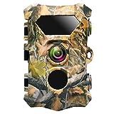 Siensen Caméra de Chasse 12MP 1080P 0.2S caméra de Chasse Rapide avec écran de 2,4'LCD, caméra de Jeu de la Faune étanche IP66