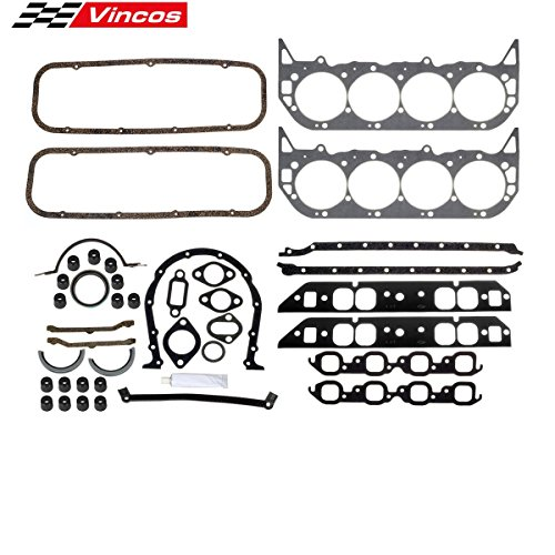 Engine Overhaul Gasket Kit 396 427 454 BBC/260-1009 Replacement for Bel Air 1965-1975 Compatible with C25 K35/K3500 Pickup 1975-1978 Compatible with Strato-Chief 1965-1970