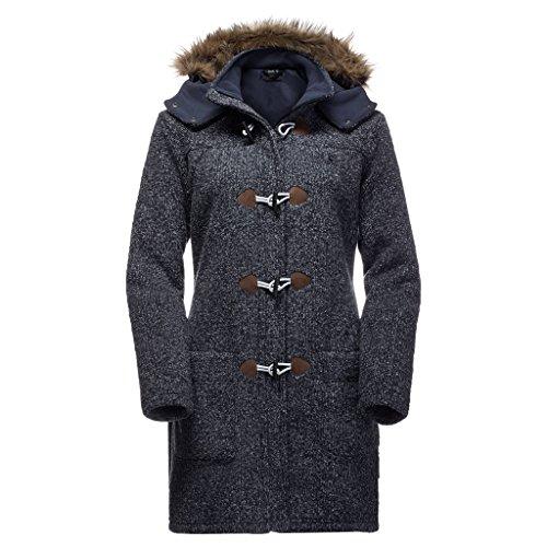 Jack Wolfskin Damen Milton Coat M Nacht Blau