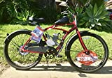 Fully Assembled Motorized Bicycle with 80CC Bike Motor Engine ON A 26' Cruiser.