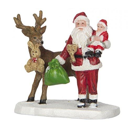 Luville Babbo Natale con Bambino
