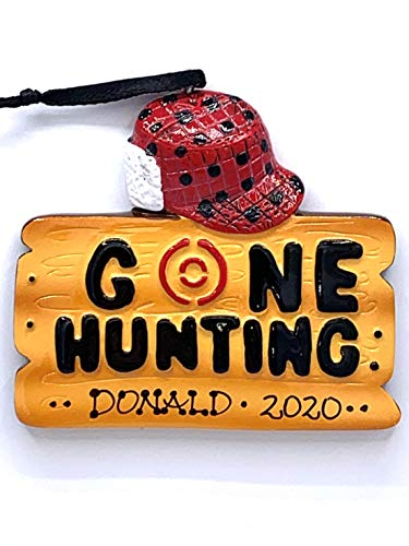 Polar X Personalized Gone Hunting Hunter Christmas Ornament