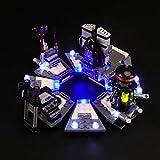 Set di Luci per (Star Wars La Trasformazione di Darth Vader) Modello da Costruire - Kit Luce LED Compatibile con Lego 75183 (Non Incluso nel Modello)