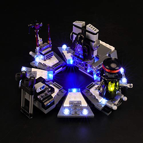Led Beleuchtungsset Für Lego Star Wars Darth Vader Transformation, Kompatibel Mit Lego 75183 Bausteinen Modell - (Modell Nicht Enthalten)