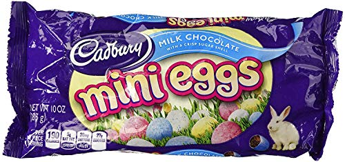 Cadbury Easter Candy Coated Mini Eggs (Milk Chocolate, 10 Ounce) - PACK OF 2 by