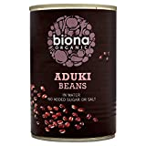 Biona Organic Aduki Beans 400g (Case of 6)...