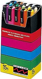Uni-posca Paint Marker Pen- Fine Point- Set of 15 (PC-3M15C)