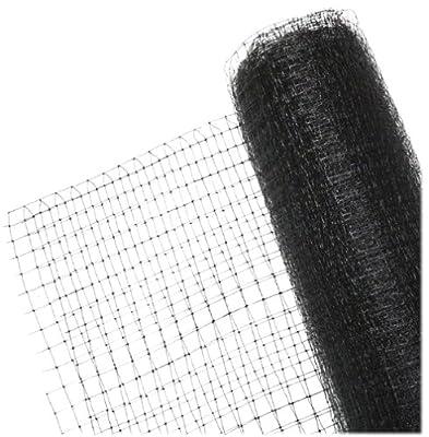 BirdBlock 604 Reusable Netting for Bird Protection, 7 feet x 20 feet, Black