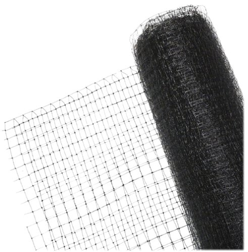 BirdBlock 604 Reusable Netting for Bird Protection, 7 feet x 20 feet, Black