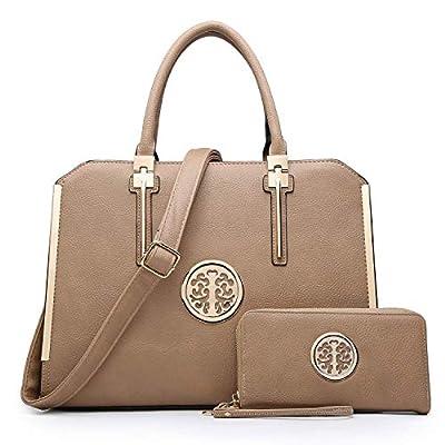 Amazon - Save 25%: Women Fashion Satchel Handbags with Wallet Designer Briefcase Purse…