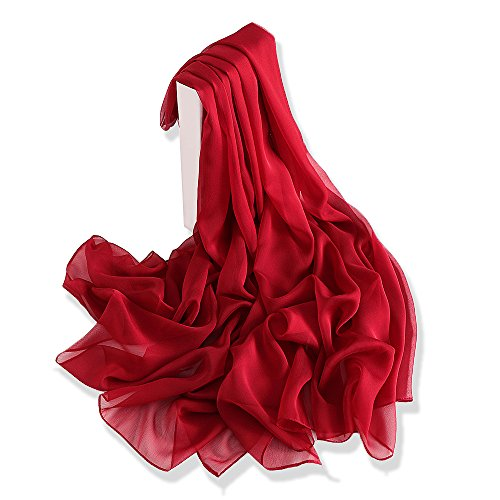 YFZYT Pañuelo seda Mujer Mantón Bufanda Moda Chals