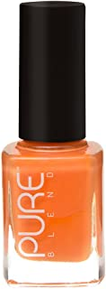PURE BLEND Toxic Free Luxury Nail Polish - Rock and Roll - Yellow Orange Crème - 9 ml