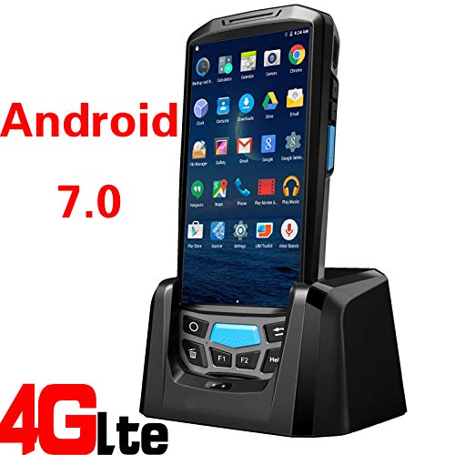 TQ WiFi/Blue Tooth / 4G Robuste Pos Android Barcode Scanner Mobile PDA avec imprimante intégrée,2dnfc