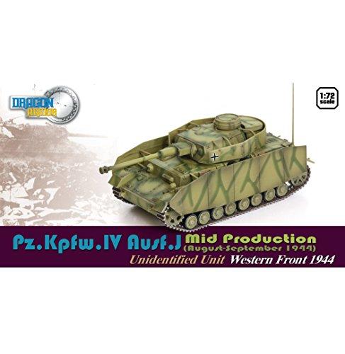 Dragon Models Pz.Kpfw.IV Ausf.J Mid Production Western Front 1944 Model Kit (1/72 Scale)