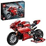 LEGO 42107 Technic Ducati Panigale V4 R Motocicleta Modelo de Exposición Coleccionable Moto Superbike Set de Construcción