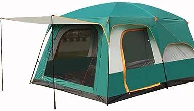 RENXR Cabaña para 8 Personas con instalación instantánea Cabina para Acampar en Tienda de 60 Segundos