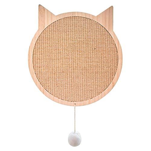 DaMohony Rascador para gatos con ventosas, rascador para gatos y gatos de sisal