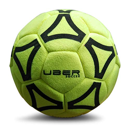 Uber Soccer Indoor Felt Ball (Yellow, 4)