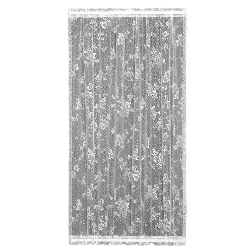 Heritage Lace English Ivy 48-Inch Wide by 40-Inch Drop Door Panel, White