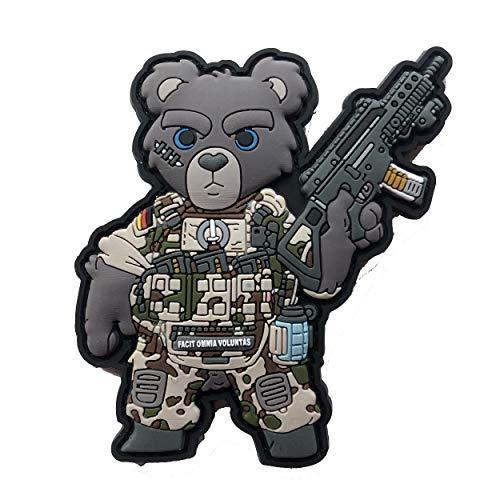 TACOPSGEAR Teddy Teddybär Bundeswehr Soldat Armee Heer Patch