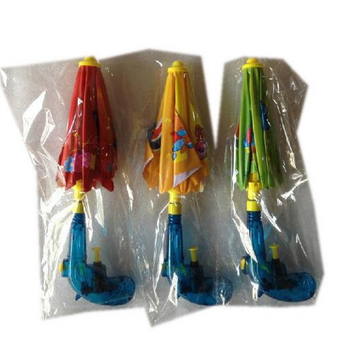 Set de 3 Creative jouets de l'eau Umbrella, Offense et Défense